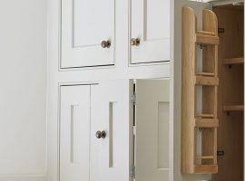 Bespoke kitchen storage cabinets